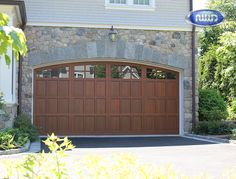 Infinity Classic Model I206C WG Dark Cherry PC Finish Garage Door