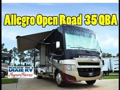 2013 Allegro Gas Open Road 35 QBA For Sale At Dixie RV In Hammond LA - Jeff Hilliard Motor Homes For Sale, Hammond La, Tiffin Allegro, Tiffin Motorhomes, Rv Dealers, Campervans For Sale