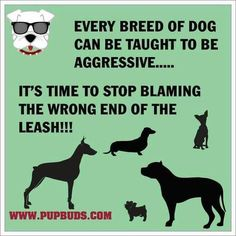 Very true if you didn't know pit bulls used to be called babysitters because people would leave their kids with them because   they are so caring