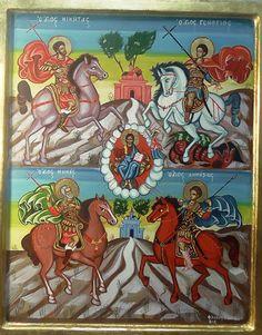 Άγιος Γεώργιος - Google zoeken Saints, Comic Books, Comics, Cover, Google, Art, Art Background, Kunst, Cartoons