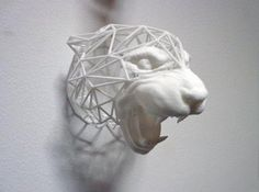 These Wireframe Animal Heads Are Both Beautiful and Wildlife-Friendly