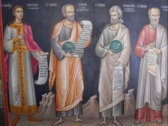 Full of Grace and Truth: Greek philosophers, The Sybil of Erythrae, and the Greek Philosophers Solon, Pythagoras and Socrates, foreshadowing Christ. Paul The Apostle, Western Philosophy, Socrates, Orthodox Icons, Religious Art, Archaeology, Civilization, Jesus Christ, Greek