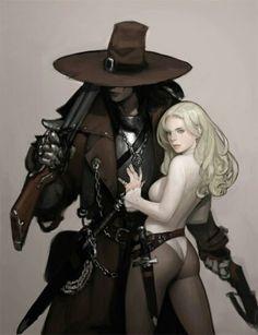 Ок, това не е ли Майкъл Джексън (под шапката)? Art by Kimbum Korean illustrator
