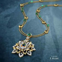 Peacock collection at Caratlane Gold Chain Design, Gold Jewellery Design, Gold Jewelry, Jewelery, Gold Pendent, Simple Jewelry, Bridal Jewelry, Fashion Jewelry, Chains
