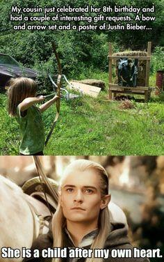 Legolas vs Bieber