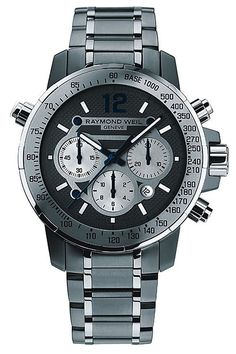 Raymond Weil Nabucco Chronograph #luxurywatch #raymondweil Raymond-Weil. Swiss Luxury Watchmakers watches #horlogerie @calibrelondon