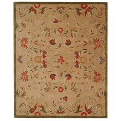 @Overstock - Complete your home decor with this hand-spun Descent beige wool rug Traditional rug provides an old world feel to a fresh new collection Stunning rug is sure to enhance any room decorhttp://www.overstock.com/Home-Garden/Handmade-Descent-Beige-Wool-Rug-5-x-8/2563979/product.html?CID=214117 $173.99