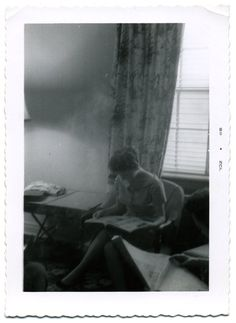 Found Photograph - People Reading