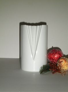 1980's Rosenthal White High Gloss Studio-Linie Vase by gallery122 #GotVintage #Vintage