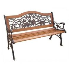 Garden/Park Benches At Your Wrought Iron Specialty Shop
