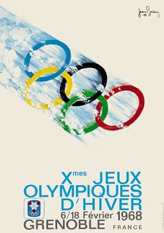 Looking Back at the 90 Year Evolution of The Winter Olympics Poster