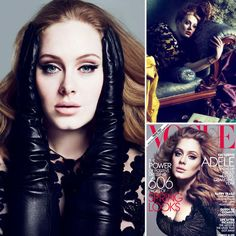 Adele is rocking in this beautiful Vogue spread!