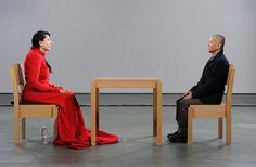 "Marina Abramovic+MoMA. ""The artist is present"""