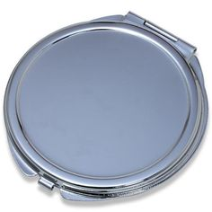 Wholesale Blank Metal Compact Mirror Cases Small