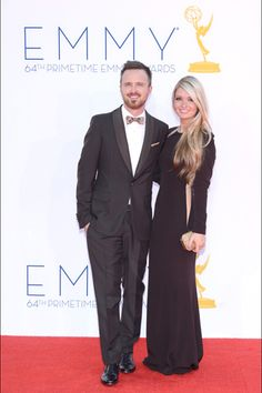 aaron paul - prada - 64th emmy awards