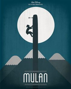 Mulan (1998) by Hydrogene Portfolio, via Flickr