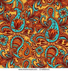 Decorative background Hand-Drawn Henna Mehndi Abstract Mandala Flowers and Paisley Doodle Vector Illustration Design Elements