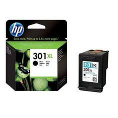 HP Ink Cartridge - Black 301XL -  Highlights:  ·Original HP brand cartridge for optimum print quality   Technical Specifications: Content: 1 Units · Ink/toner colour: Black · Ink/toner type: Original · Manufacturer part no.: CH563EE · Refill type: Ink cartridge · Short code: 301XL · Side range: 480 pages · Suitable for printer b... - http://ink-cartridges-ireland.com/hp-ink-cartridge-black-301xl/ - 301XL, black, cartridge, HP, Ink