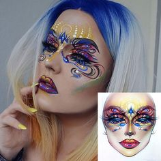 """1,228 Likes, 12 Comments - Sergey X (@milk1422) on Instagram: """"#artist@milk1422 #artist @bangtsikitsiki Perfectly done makeup ❤thank you so much…"""""""