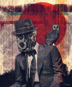 #camera + #owl + design : im happy