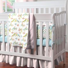 Love Birds Crib Bedding Set