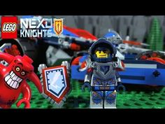 Clay is out on patrol in the Rumble Blade protecting the Kingdom of Knighton when his help is needed. Clay's Rumble Blade features a detachable Sword Spe. Lego Knights, Blade, Monster Trucks