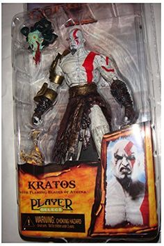 "PJ's Toybox 20pcs 7.5"" NECA God of War Kratos in Golden Fleece Armor…"