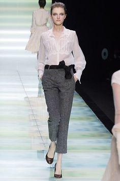 Céline Fall 2006 Ready-to-Wear Fashion Show - Vlada Roslyakova