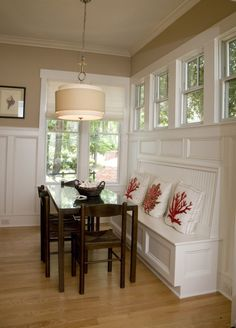 built-in dining bench