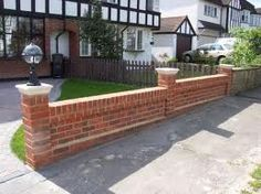 The 11 Best Front Wall Ideas Images On Pinterest Brick Fence
