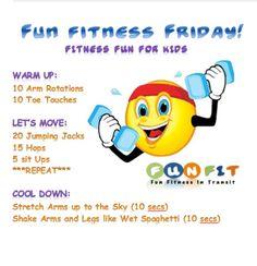 Fun Workout For Kids