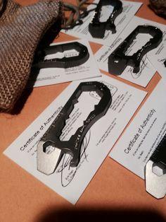 6AL4V Grade 5 Titanium Pocket Wrench Metric by PocketToolWorks, $45.00