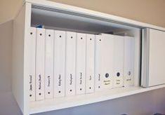 My alternative to the file cabinet. | Jenna Sue Design Blog