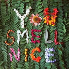 nature love letters