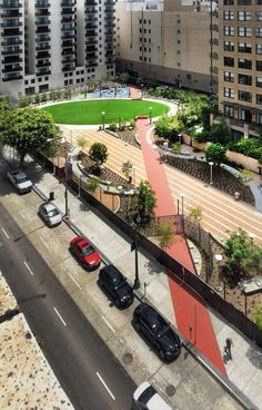 The Bold Design of Spring Street Park Delivers a New Approach to Urban Development - Landscape Architects Network