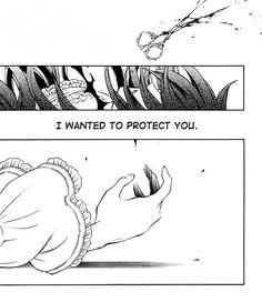""""""" i wanted to protect tou """"/ Pandora Hearts manga"""