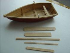 DIY Miniature Canoe - YouTube