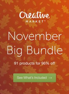 Deals on deals on deals! Only a few hours left to grab our jam-packed November Bundle!