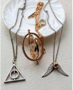 Jewelry For Sale Online Info: 3331554752 Colar Harry Potter, Anillo Harry Potter, Harry Potter Schmuck, Bijoux Harry Potter, Objet Harry Potter, Mode Harry Potter, Harry Potter Items, Harry Potter Style, Harry Potter Room