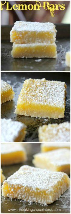 1000 ideas about best lemon bars on pinterest lemon for Bar food ideas recipes