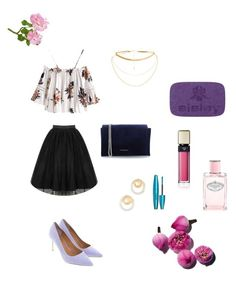 """""""Spring look"""" by martens-ingrid on Polyvore featuring мода, Tory Burch, Madewell, Sisley, Clé de Peau Beauté, Prada, Coccinelle, Spring, like и fashionset"""