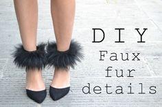 TO DIY OR NOT TO DIY: FAUX FUR DETAILS