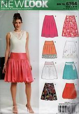 NEW LOOK 6594  Misses Skirt Sewing Pattern  Sz 8-18 UC