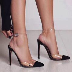 trendige coole high heels blach schuhe, #blach #coole