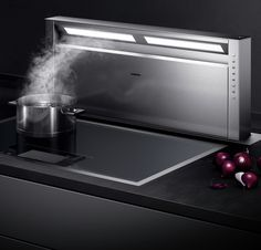 For over three centuries, Gaggenau has been a leading brand for innovative and revolutionary home appliances. Find out here why the difference is Gaggenau! Kitchen Fan, Modern Kitchen Island, Toy Kitchen, Home Decor Kitchen, Kitchen Interior, Kitchen Islands, Built In Kitchen Appliances, Kitchen Hoods, Kitchen Extractor