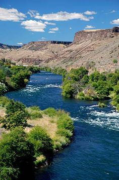 The Deschutes River at Maupin, Oregon.I want to go see this place one day.Please check out my website thanks. www.photopix.co.nz