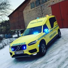 Volvo XC90 Ambulanse in Gjøvik Norway