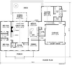 Bump out breakfast room, move dining room closer to garage, put stairs by the foyer.