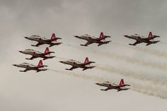 """Turkish Air Force """"Turkish Stars"""" Northrop/Canadair NF-5A and NF-5B Freedom Fighters"""