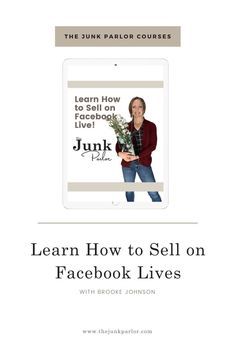 Sep 12, 2020 - Needing to make more sales? Use Facebook LIVE Sales to generate income. The Junk Parlor | Old stuff and cool junk for your home Ways To Save Money, Money Tips, Facebook Marketing Strategy, Power Of Social Media, Antiques For Sale, Budgeting Money, Antique Dealers, Helping Others, Vignettes
